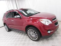 2015 Chevrolet Equinox LTZ Crystal Red Tintcoat Recent