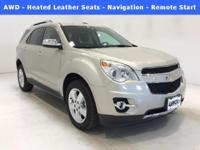 Options:  2015 Chevrolet Equinox Ltz|Silver|*Awd -