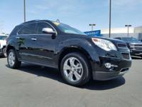 Look at this 2015 Chevrolet Equinox LTZ. Its Automatic