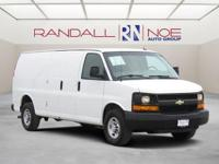 Clean CARFAX. 2015 Chevrolet Express 2500 Work Van