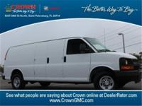 Carfax one owner!. GM Certified, 3D Extended Cargo Van,