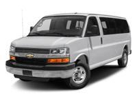 Chevrolet Express 3500 LT 2015 Summit White Newly