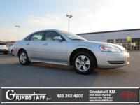 This 2015 Chevrolet Impala Limited will sell fast