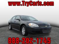 2015 Chevrolet Impala Limited with Alloy Wheels, Power