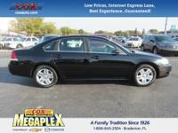 This 2015 Chevrolet Impala Limited LT in Black is well