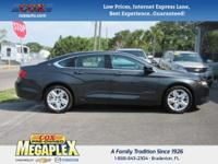 New Price! This 2015 Chevrolet Impala LS in Grey is