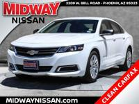 New Price!2015 Chevrolet Impala LS Summit White ECOTEC