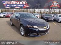 This 2015 Chevrolet Impala LT... Features include: