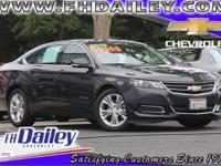 Options:  2015 Chevrolet Impala Lt Gray Qualifies For
