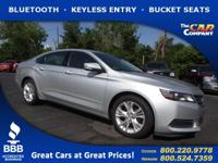 Used 2015 Chevrolet Impala, DESIRABLE FEATURES: