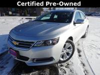 Options:  2015 Chevrolet Impala Lt|Recent Arrival!