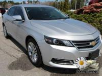 Clean CARFAX. Silver Ice Metallic 2015 Chevrolet Impala
