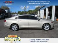 This 2015 Chevrolet Impala LT in Silver Ice Metallic is