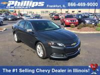 Options:  2015 Chevrolet Impala Lt W/2Lt|Ashen Gray