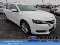 Options:  2015 Chevrolet Impala 4Dr Sdn Lt