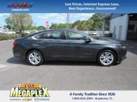 New Price! This 2015 Chevrolet Impala LT in Gray is