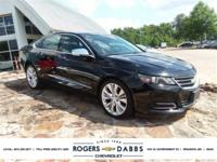 Black 2015 Chevrolet Impala LTZ 2LZ BOSE, PANORAMIC