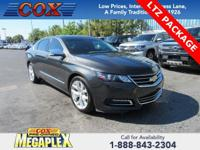 New Price! This 2015 Chevrolet Impala LTZ in Black is