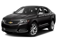 Options:  2015 Chevrolet Impala Ltz W/2Lz|Back-Up