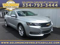2015 Chevrolet Impala LTZ in Silver vehicle highlights