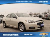 This 2015 Chevrolet Malibu LS is offered to you for