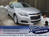 The five-seat 2015 Chevrolet Malibu Eco offers a new