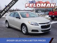 GM CERTIFIED ELIGIBLE 2015 Chevrolet Malibu LS CARFAX