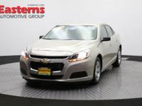 New Price! 2015 4D Sedan Gold 2015 Chevrolet Malibu LS