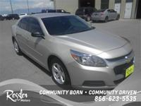 New Arrival... This Silver 2015 Chevrolet Malibu is