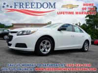 1LS New Price! Malibu LS Summit White Priced below KBB