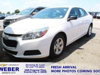 Recent Arrival! Summit White Chevrolet Malibu **ANOTHER