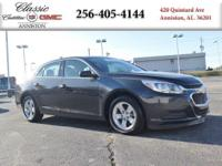 Options:  2015 Chevrolet Malibu Ls|Gray/|V4 2.5L