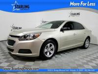 GM Certified, 4D Sedan, ECOTEC 2.5L I4 DGI DOHC VVT,