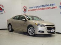 Check out this gently-used 2015 Chevrolet Malibu we