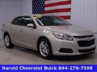 This dependable 2015 Chevrolet Malibu is a one-owner