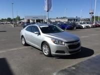 CARFAX One-Owner. Clean CARFAX. Silver 2015 Chevrolet