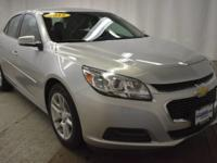 This outstanding example of a 2015 Chevrolet Malibu LT