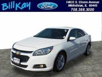 CARFAX One-Owner. Clean CARFAX. White 2015 Chevrolet