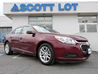 2015 Chevrolet Malibu LT SEDAN. Certified. Clean