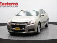 2015 4D Sedan Gold 2015 Chevrolet Malibu LT 1LT FWD