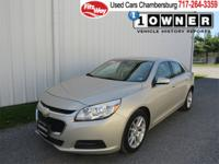 Priced to move! THis 2.5L Malibu LT comes with a 6