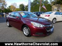 CERTIFIED2015 Chevrolet Malibu LT Sedan presented in