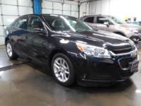 Very sharp car. Black is a great color in the Malibu.