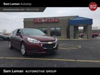 One of our best sellers, this 2015 Chevrolet Malibu LT