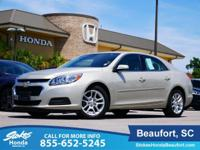 2015 Chevrolet Malibu in Gold. Cloth. Gasoline! All the