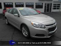 Options:  2015 Chevrolet Malibu Lt W/1Lt|Champagne