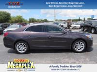 This 2015 Chevrolet Malibu LT in is well equipped with: