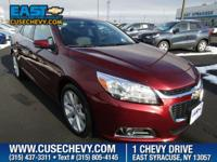 Check out this 2015 Chevrolet Malibu LT. Its Automatic