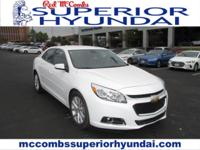Tried-and-true, this Used 2015 Chevrolet Malibu LT