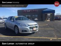 2015 Chevrolet Malibu LT! Nicely equipped with